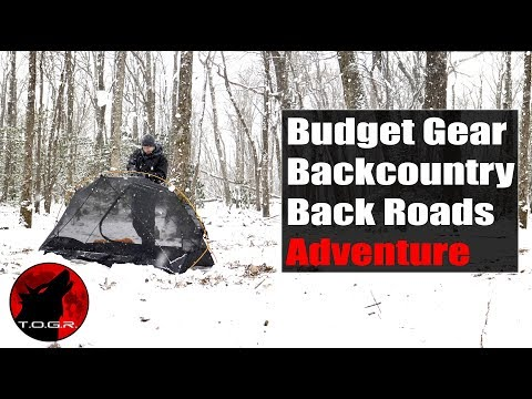Budget Gear Winter Storm - Overnight Adventure