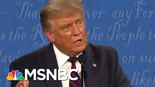How Safe Was Debate In Light Of Trump's Diagnosis?   Morning Joe   MSNBC