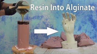 Casting A Resin Positive From An Alginate Mold