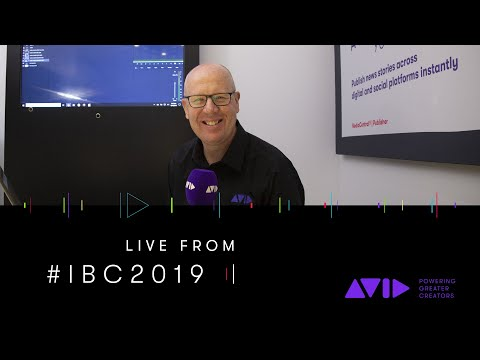 #AVID #IBC2019 LIVE ⏩ See what's new and coming to Avid MediaCentral