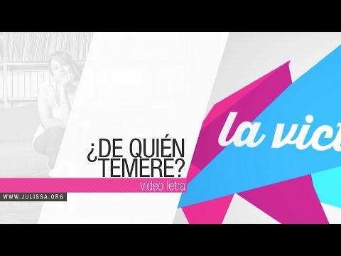 JULISSA | De Quien Temeré (Official Lyric Video)