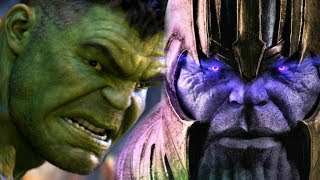 Thanos vs Hulk Rematch In Avengers Endgame LEAKED By Toys