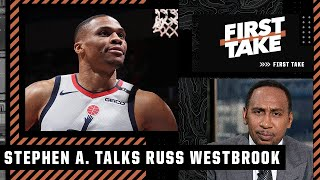 Westbrook 'don't get to have that attitude in L.A.!' - Stephen A. tells Russ to compete for a title