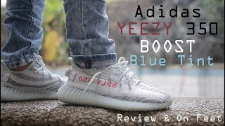 "Adidas Yeezy 350 Boost v2 ""Blue Tint"" Review & On Feet"