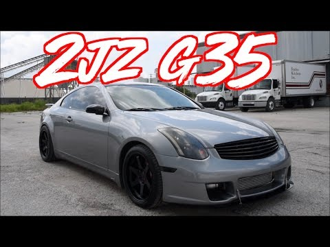"The Perfect G35""! - 2JZ Swap Infiniti Coupe!"