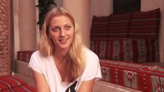 Wimbledon Champion Petra Kvitova Explores Dubai