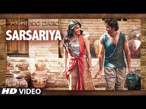 SARSARIYA LYRICS - Mohenjo-Daro | Hrithik Roshan