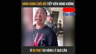 Nữ đại úy công an chửi bới thách thức nhân viên sân bay và cái kết :)) Full Clip HD  -Thịnh Tô Vlogs