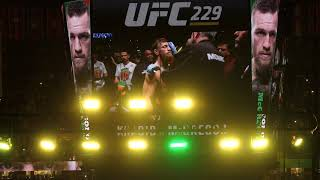 UFC 229- Conor McGregor Introduction- T-Mobile Arena, Las Vegas, NV