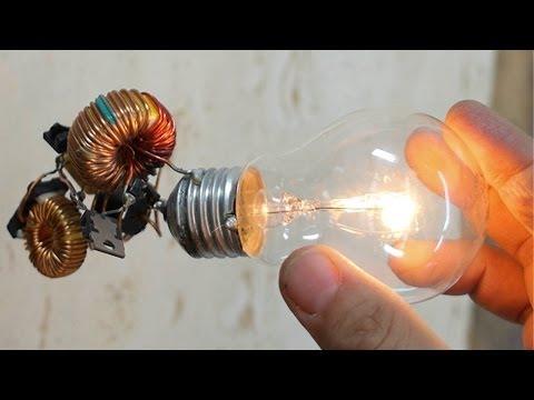 Ampoule à énergie gratuite