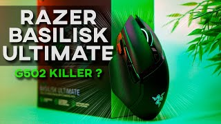 Vidéo-Test : Razer Basilisk Ultimate | TEST | Mieux qu'une G502 Lightspeed ?