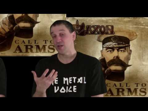 Saxon Call to Arms Album review-SAXON