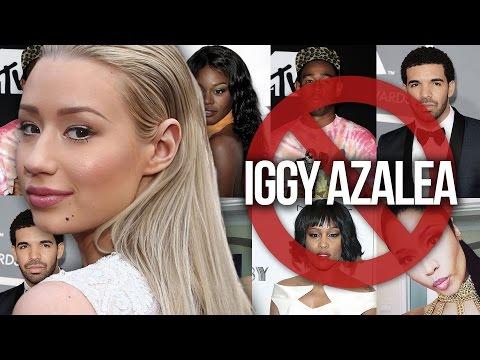 7 Celebs Who've Dissed Iggy Azalea