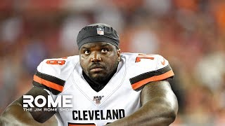 Greg Robinson ARRESTED For Possessing 157 lbs of Marijuana   The Jim Rome Show