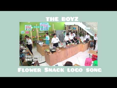 THE BOYZ ㅡ Flower Snack logo song
