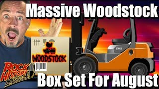 Massive Woodstock 38-Disc Box Set For 50th Anniversary In August
