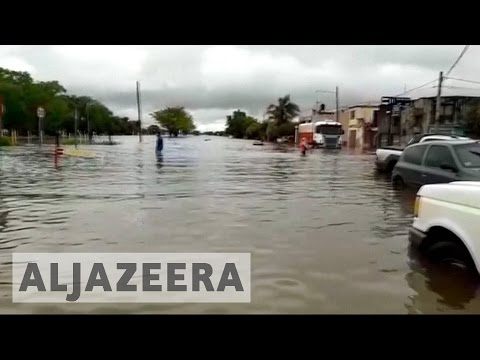 Hundreds evacuated in Argentina after severe floods