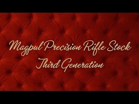 The Magpul PRS (Precision Rifle Stock) Gen 3
