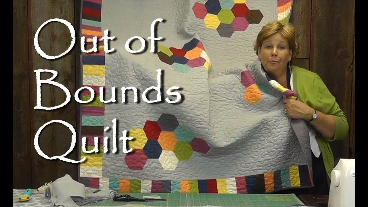 Out Of Bounds Quilt - Modern Quilting Project - Smashpipe Education