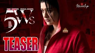 Payal Rajput's 5Ws first look motion teaser..