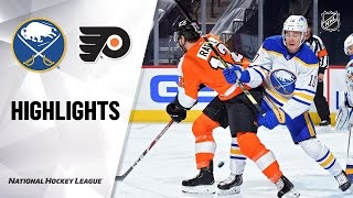 NHL Highlights | Sabres @ Flyers 1/18/21