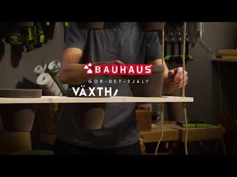 BAUHAUS Gör det själv - Bygg en växthängare