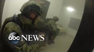El Chapo   GoPro Helmet POV Footage of Raid Capturing Joaquin Guzman