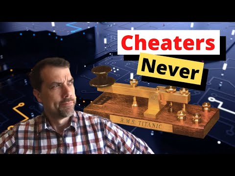 How to Cheat at Morse Code/CW and Win