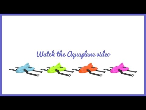 video The AquaPlane – A new tool to help your child swim