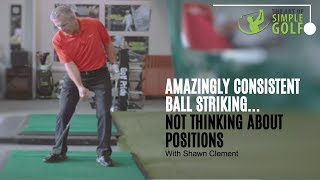 Consistent Ball Striking Without Thinking About Golf Swing Positions Shawn Clement