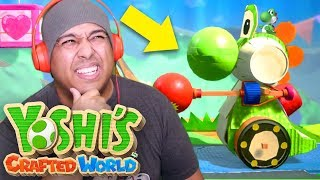 I LOVE THE HOMIE YOSHI BUT!! WILL I LOVE THIS GAME?? [YOSHI'S CRAFTED WORLD]