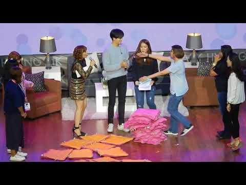 [11.11.2017] Park Hyung Sik 박형식 Fanmeet in Manila - Game (Pillow Fight)