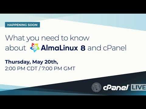 Join us tomorrow for cPanel LIVE and register now