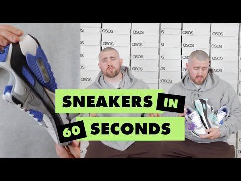 asos.com & Asos Voucher Code video: Sneakers in 60 with Morgan Weekes (a.k.a. Morprime) 👟