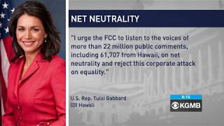 Tulsi Gabbard Condemns Proposed Repeal of Net Neutrality - Hawaii News Now