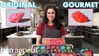 Pastry Chef Attempts to Make Gourmet Pop Rocks | Gourmet Makes | Bon Appétit