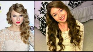 How To Get Taylor Swift's Curls Without Heat!
