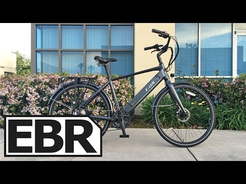 E-Lux Monaco Video Review - $2k Elegant City Ebike with Lights, Fenders, Rack