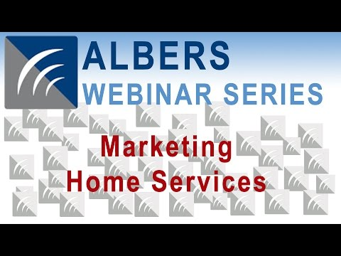Marketing Home Services