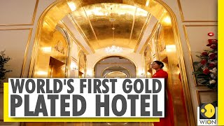 World's 'first' gold-plated hotel opens in Vietnam..