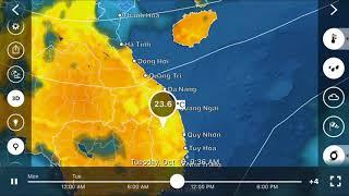 Dự báo thời tiết ngày 16 tháng 10 năm 2018 và 12 ngày tới