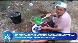 Duh, Warga di Rembang Terpaksa Pakai Air Sungai untuk Cuci Pakaian