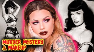 Bettie Page a killer?? The Case Of The Vanishing Pinup - Mystery & Makeup GRWM | Bailey Sarian