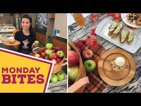 All About APPLES! Mini Pies, Bruschetta and More   Food Network