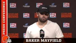Baker Mayfield Postgame Press Conference vs. Titans | Cleveland Browns