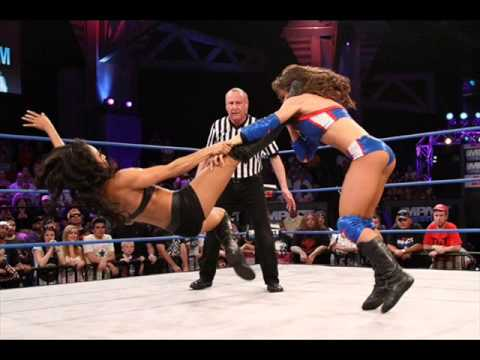 gail kim 2012 entrance theme puppet on a string vocal