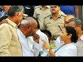 TMC mega rally: Devegowda arrives in Kolkata to attend Mamata Banerjees united India rally