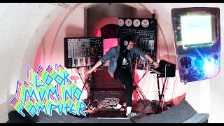 MODULAR SYNTH LIVE PERFORMANCE GAMEBOY LSDJ controlling #gameboy #LSDJ