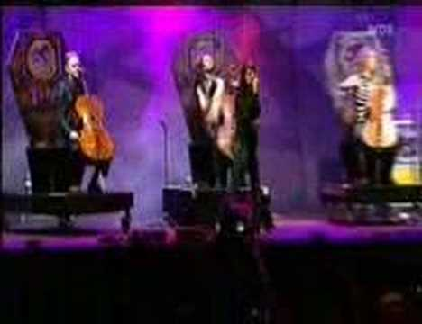 Apocalyptica-How Far(with Marta Jandová)-Rock Am Ring 2005