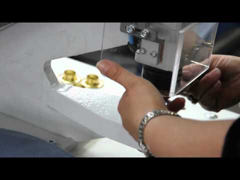 Micron MC-35 # 7 Rolled Rim Grommets & Spur Washer Installation
